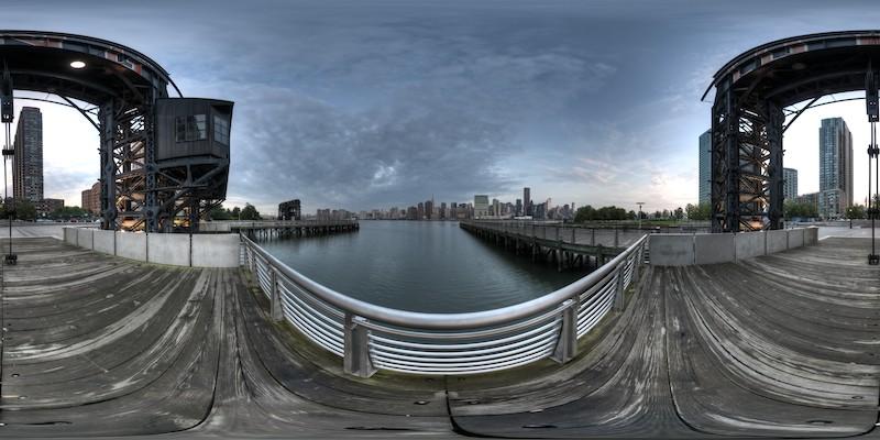 Gantry Plaza - Morning - Click