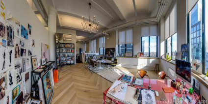 jenna lyons office 360° panorama